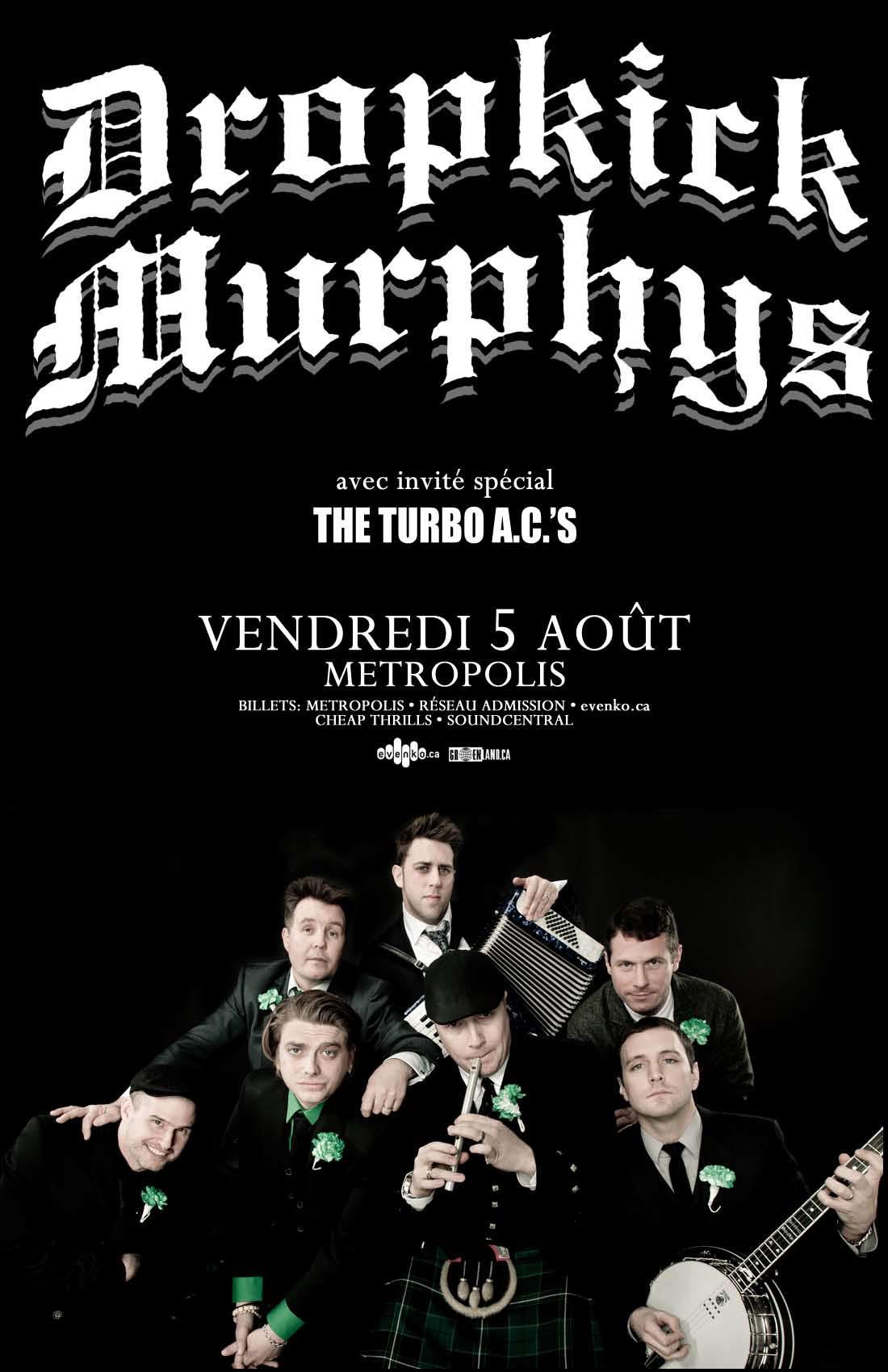 DropkickMurphys(Aug11)_poster