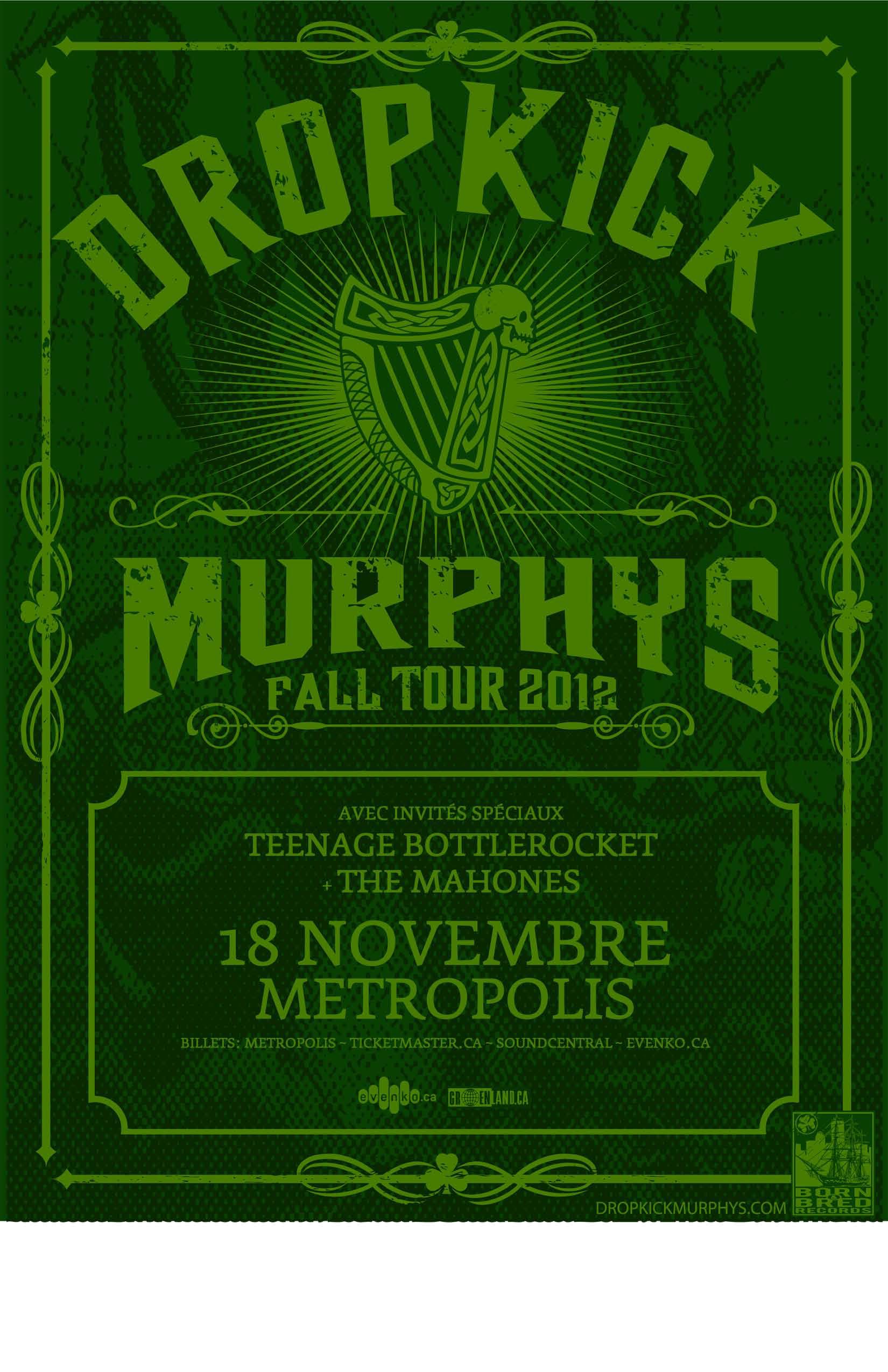 Dropkick fall 2012