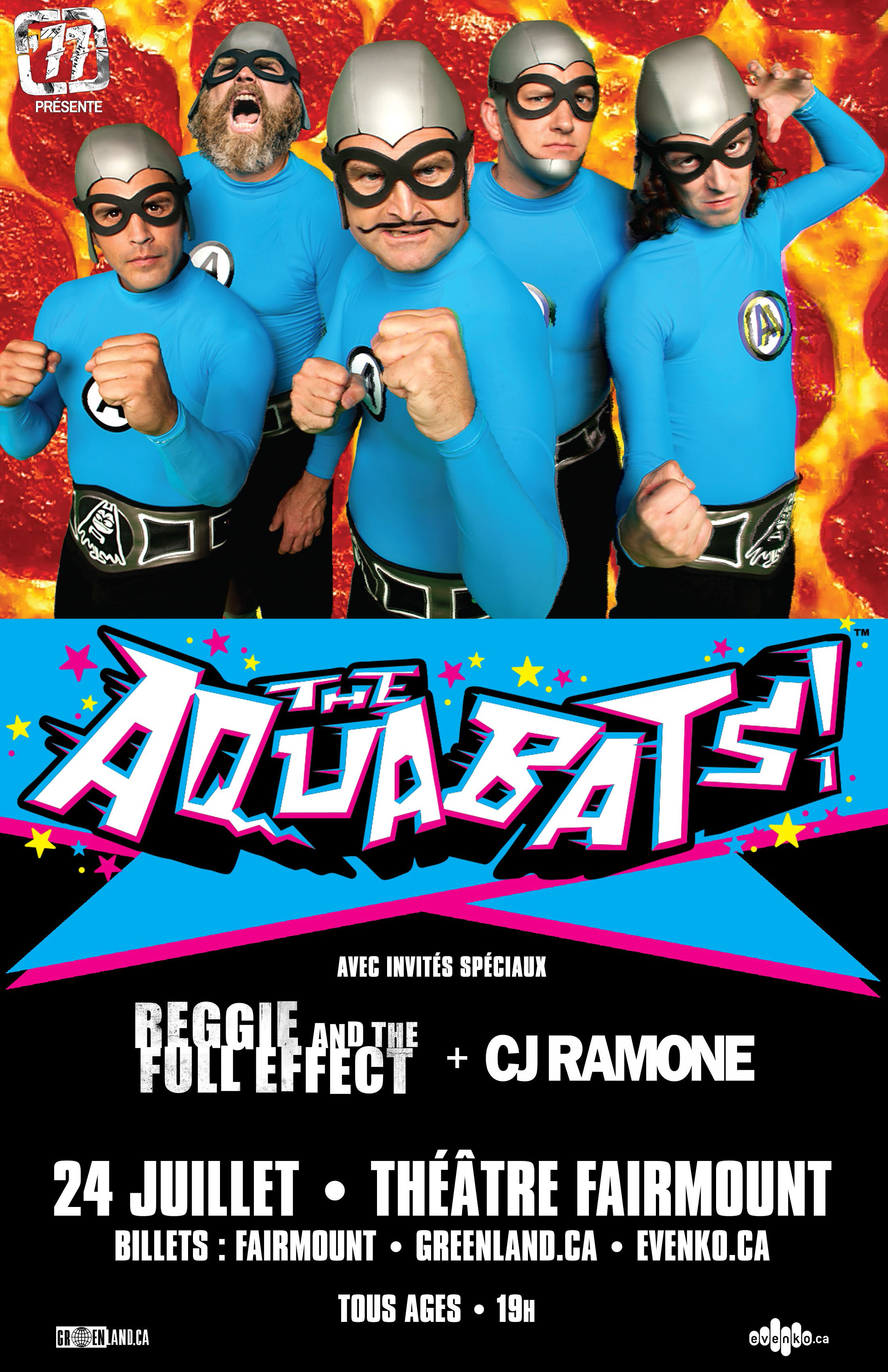 The Aquabats - Fairmount Theatre - 77 Montréal - Join the